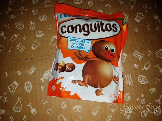 Conguitos con chocolate con mas leche Caja Degustabox - Octubre ´17