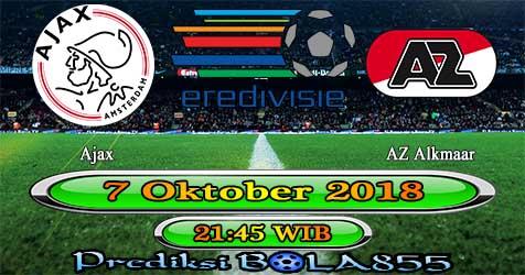 Prediksi Bola855 Ajax vs AZ Alkmaar 7 Oktober 2018