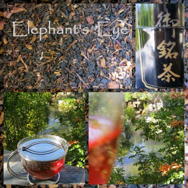 Hausmischung Diana's tea half Ceylon, a quarter rooibos and a quarter honeybush