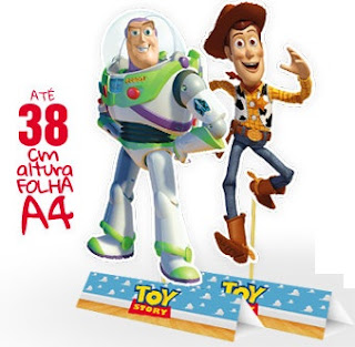Toy Story Free Printable Centerpieces.