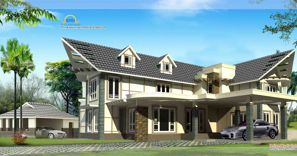 Beautiful Luxury Home 3255 Sq Ft Kerala Home Design