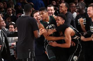 Πω πω πω, πω πω πω, τι ........παιγνίδι ήταν αυτό? Giannis Antotokounmpo #NBAVote