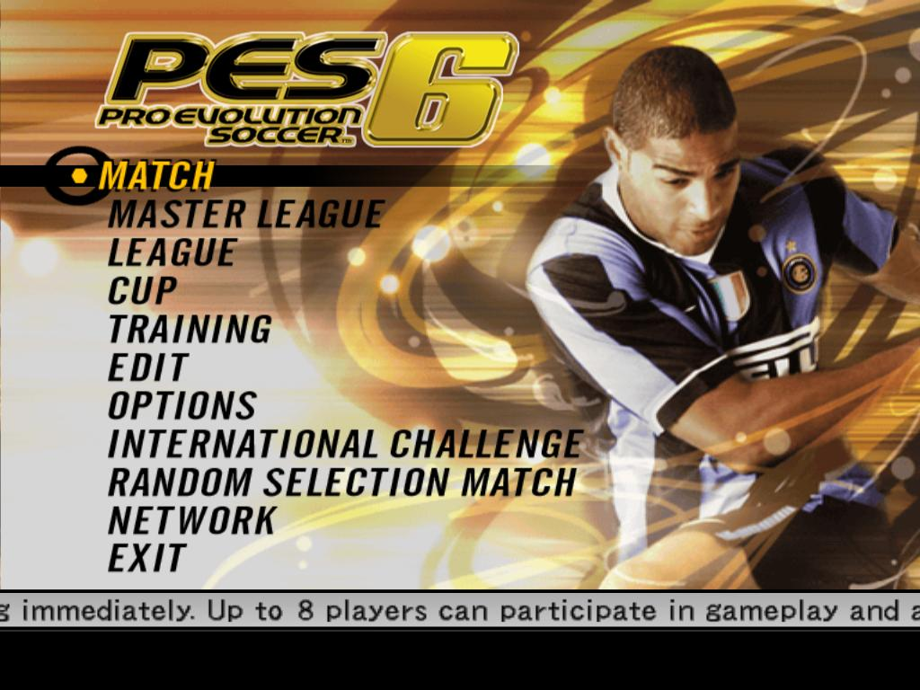 Konami Pro Evolution Soccer 6 PC Game