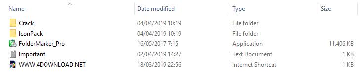 Folder Marker Pro v4.3.0.1 Full crack