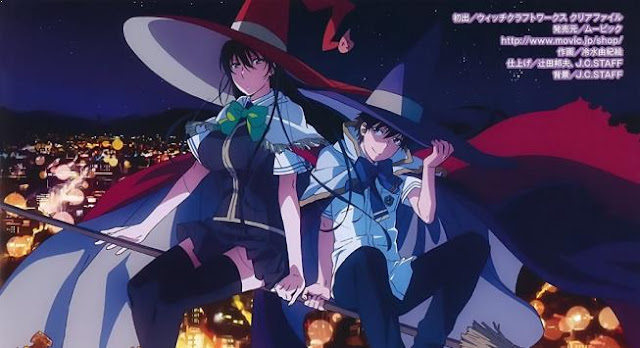 Witch Craft Works - Daftar Anime Fantasy School Terbaik
