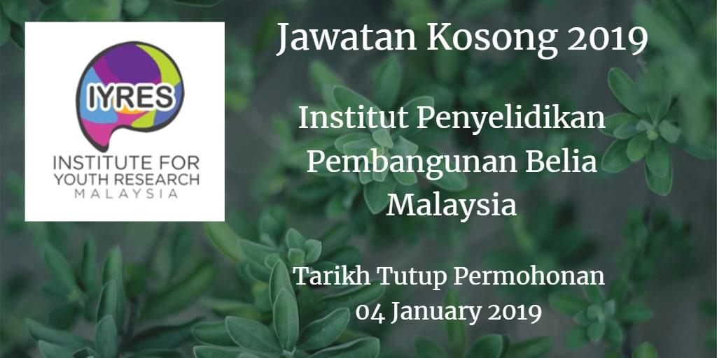Jawatan Kosong IPPBM 04 January 2019