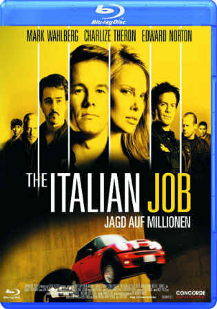 The Italian Job 2003 BluRay 850MB Hindi Dual Audio 720p Watch Online Full Movie Download bolly4u