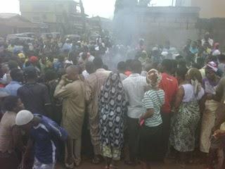 female kidnapper killed abule egba lagos