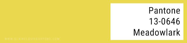 Colori Pantone 2018 Primavera - PANTONE 13-0646 Meadowlark