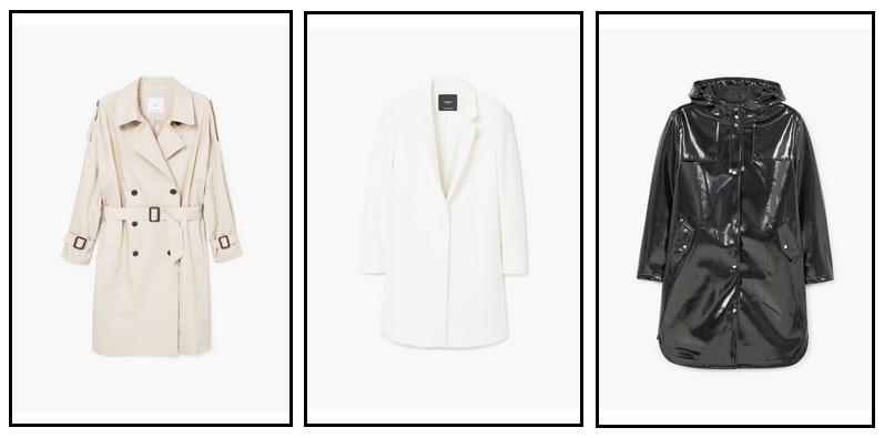 moda wiosna 2017, płaszczyk wiosenny, modne kurtki, beżowy trencz