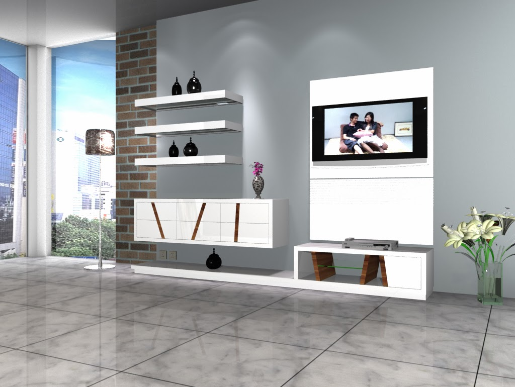 Epiplonet for Simple tv unit design for hall