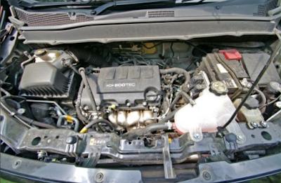 Foto Mesin Chevrolet Spin 1.2 Liter