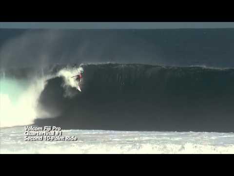 Kelly Slater is perfect in Fiji