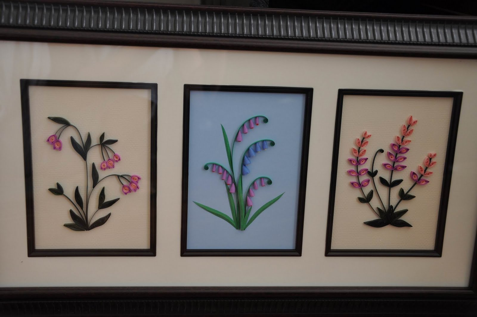 Paper Quilling Frame Designs - Creative Art & Craft Work