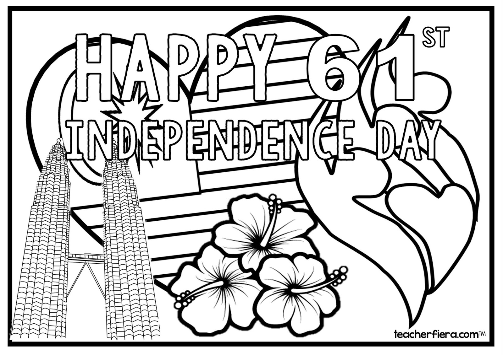 teacherfiera.com: COLOURING SHEETS MALAYSIA INDEPENDENCE