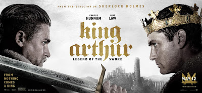 King Arthur Legend of the Sword Banner Poster 1