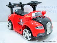 1 Mobil Mainan Aki Doestoys DTV1 Bugatti Small