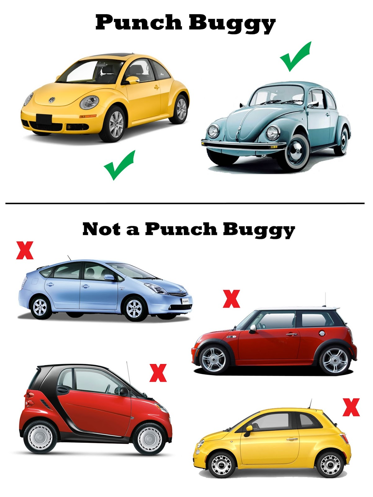 Punch Buggy Field Guide