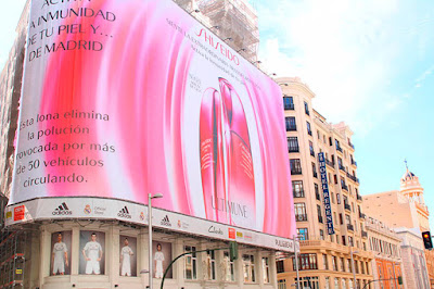 Lona de Shiseido