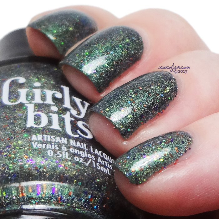 xoxoJen's swatch of Girly Bits Pocuscadabra