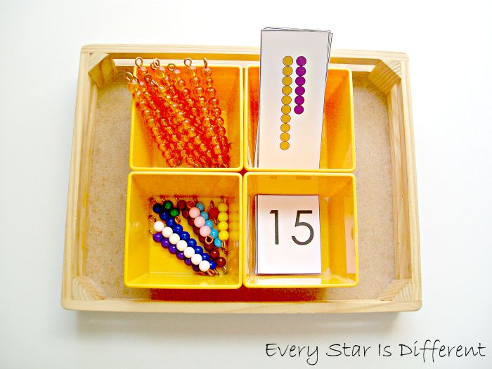 Montessori Inspired Math Activities Using Bead Bars W Free
