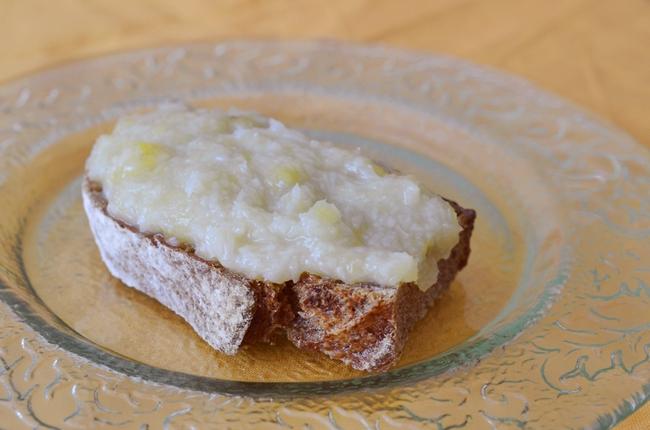Mermelada de coco y plátano
