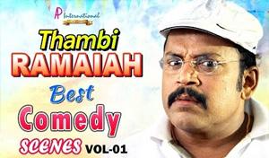 Thambi Ramaiah Comedy Collection | Super Hit Tamil Comedy Scenes | Vol 1 | Puli | Komban | Adhibar