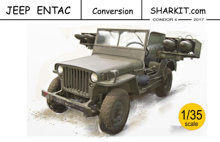 Renax Sharkit 1 72 Resin Kits Jeep Entac Missiles 1 35 Resin