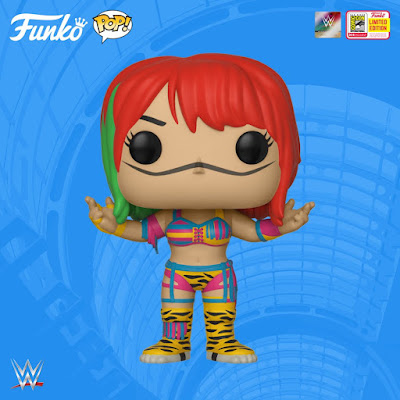 San Diego Comic-Con 2018 Exclusive WWE Asuka Pop! Vinyl Figure by Funko