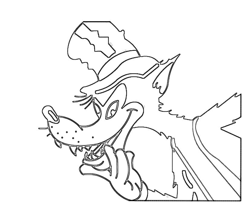 Face Wolf Mask Coloring Page Coloring Pages
