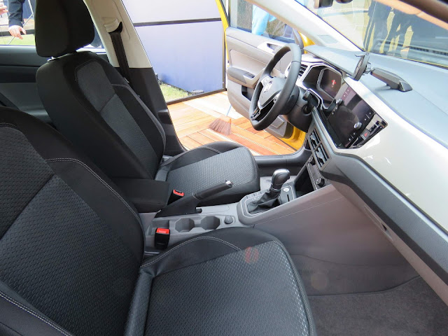 Novo VW Polo 2018 - interior