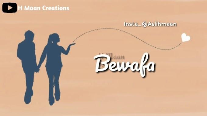 StatusMobi.com   Bewafa   New Punjabi Sad Wharsapp Status Video Song   Vishnoo   Heart Broken Whatsapp status video