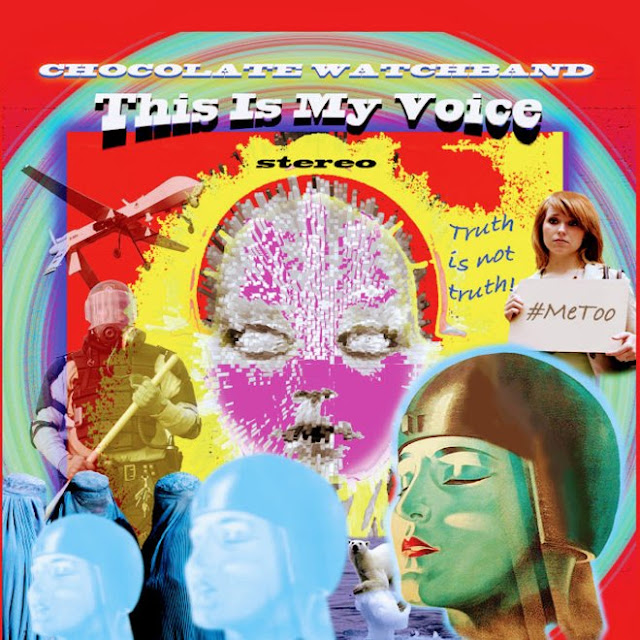 Chocolate Watchband - This is my voice (2019) 1