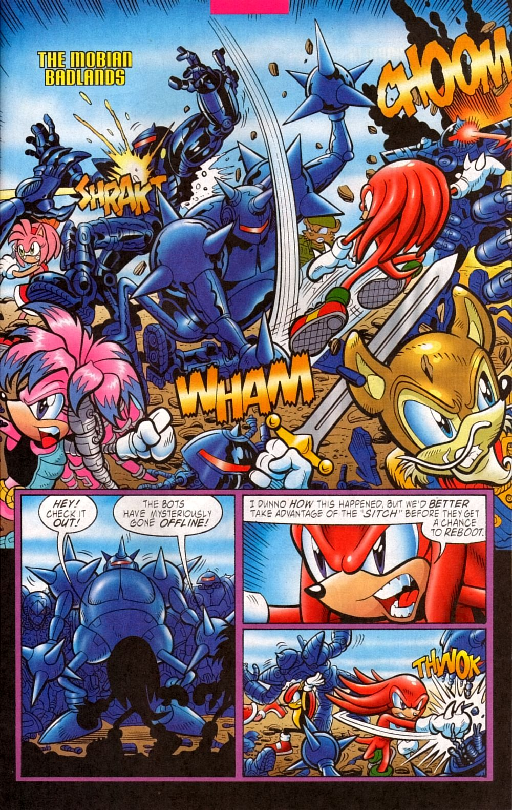 Read online Sonic The Hedgehog comic -  Issue #133 - 17