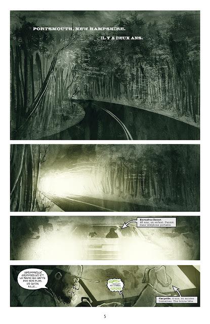 """page de """"Les chroniques de Groom Lake"""" de Ryall et Templesmith chez Delcourt"""