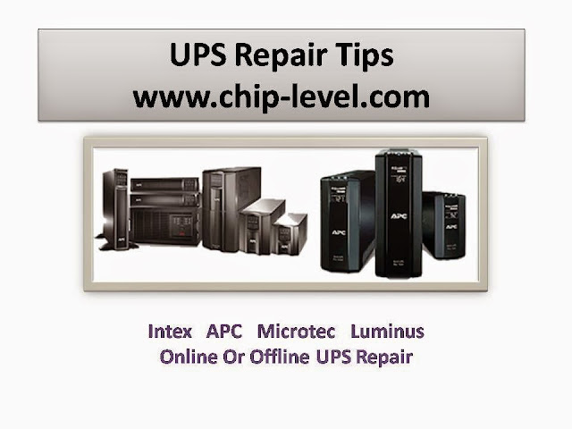 UPS Repair Tips STep By Step
