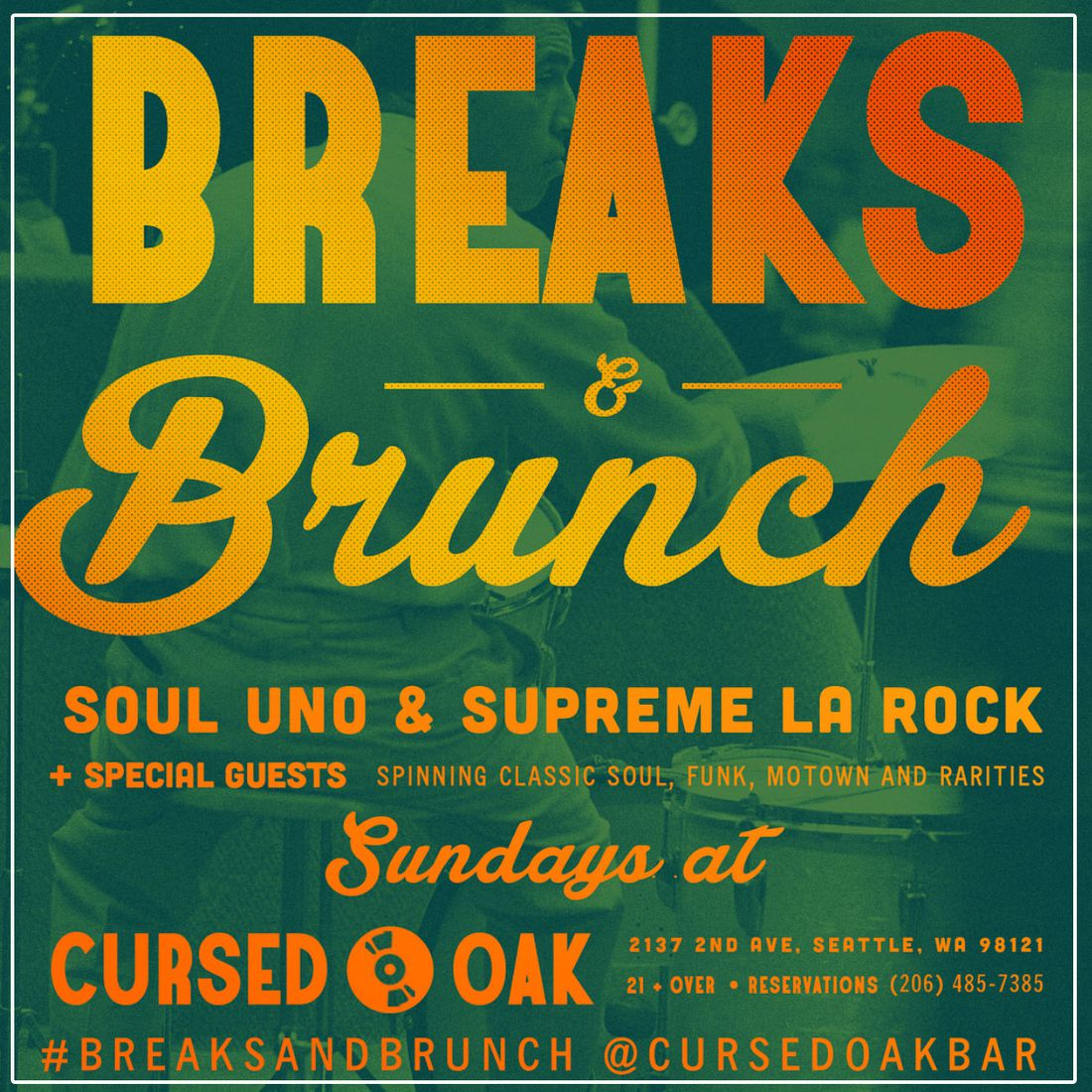 Soul Uno and Supreme La Rock - Breaks and Brunch | Soul and Funk Mixtape