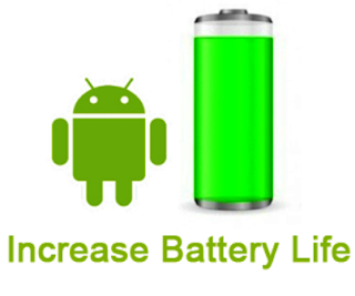 Android battery meter