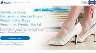cara daftar dan verifikasi paypal untuk bisnis online anda