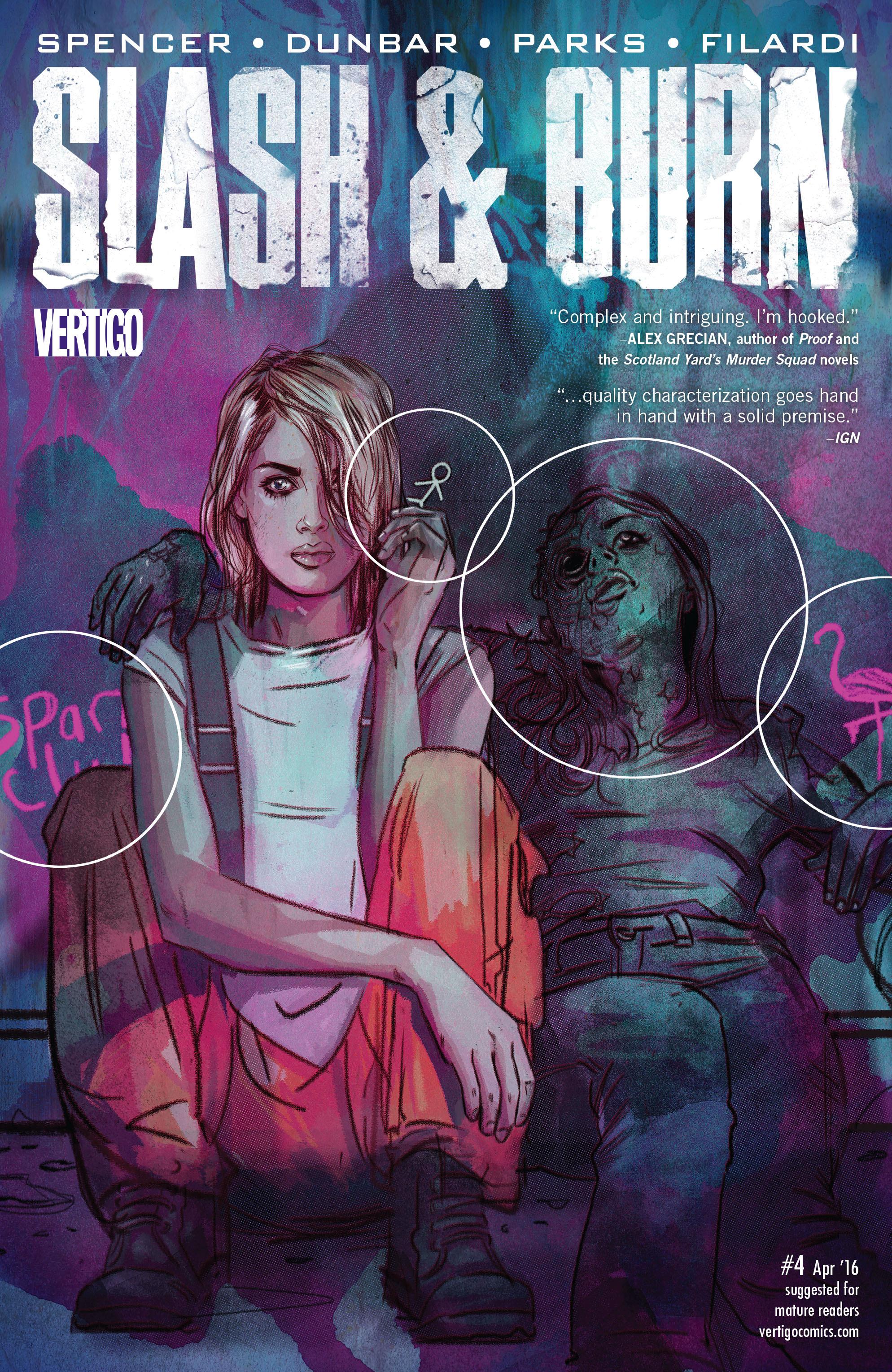 Read online Slash & Burn comic -  Issue #4 - 1