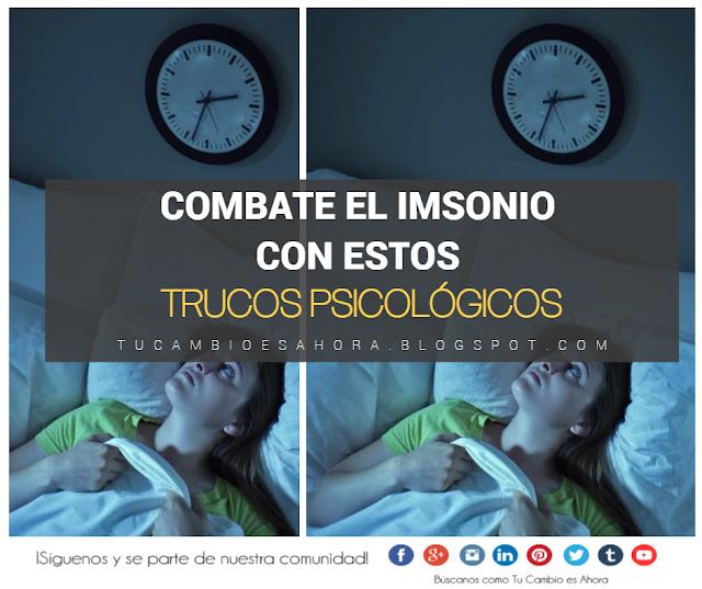 Consejos para eliminar el insomnio