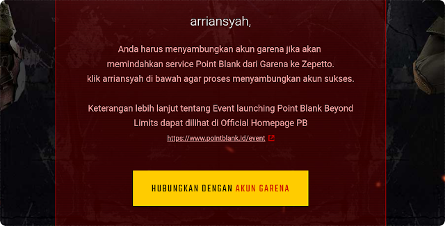 Tutorial Transfer Akun Point Blank ke Zepetto Lengkap