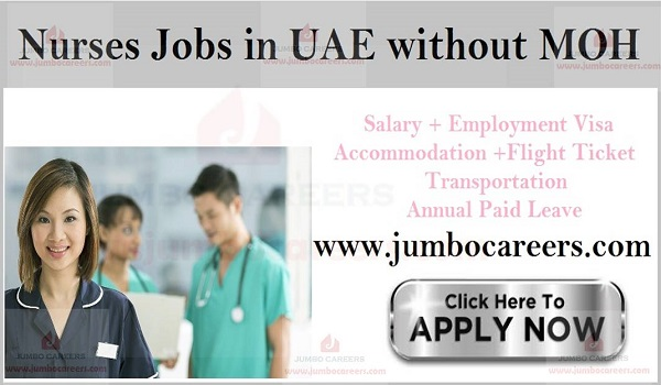 Nurses Jobs in UAE without MOH - Latest Walk in Interview