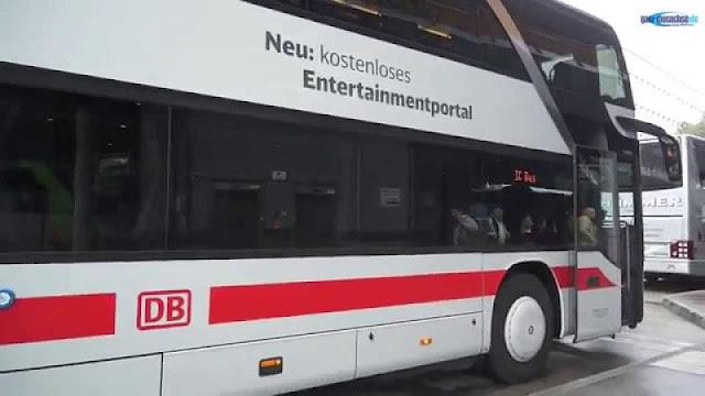 De ônibus de Hamburgo a Berlim