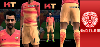 PES 2013 A.S. Roma Third Kit 2016-2017 By KIMO T.L.B 19