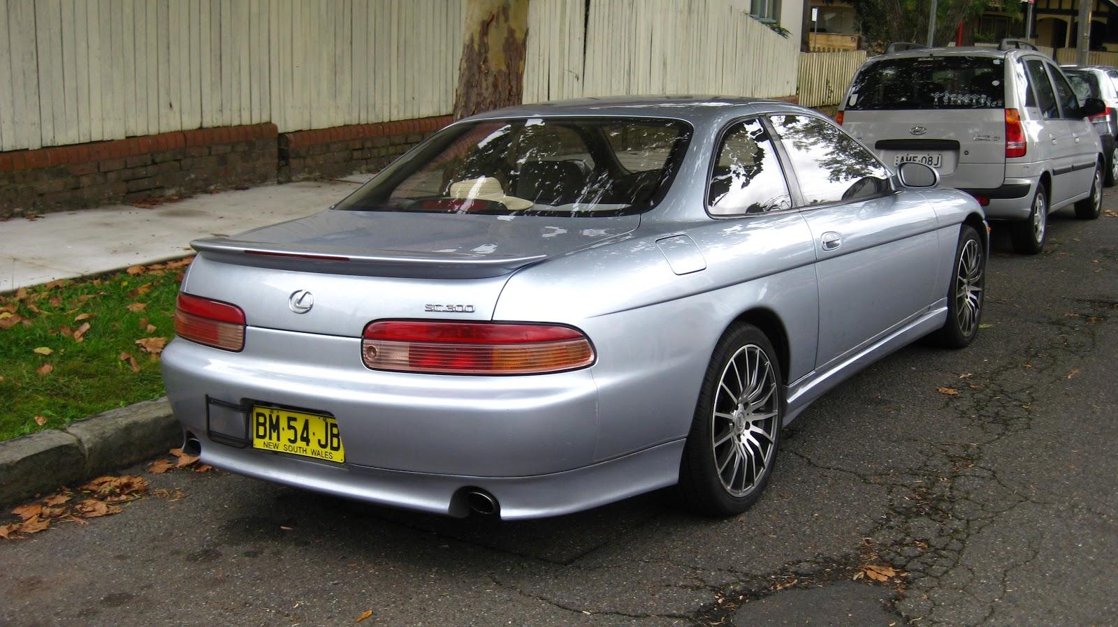 Aussie Old Parked Cars 2001 Lexus Sc 300