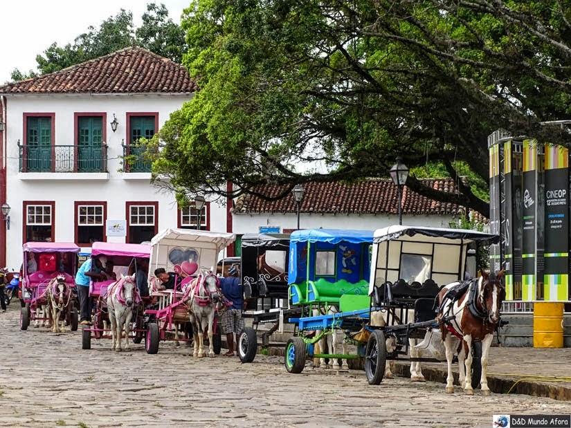 O que fazer em Tiradentes - Passeio de Charrete