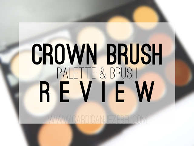 Crown Brush Palette & Brush Review