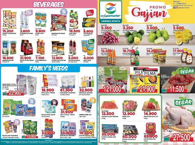 #GSSupermarket - #Promo #Katalog Periode 05 - 11 April 2019