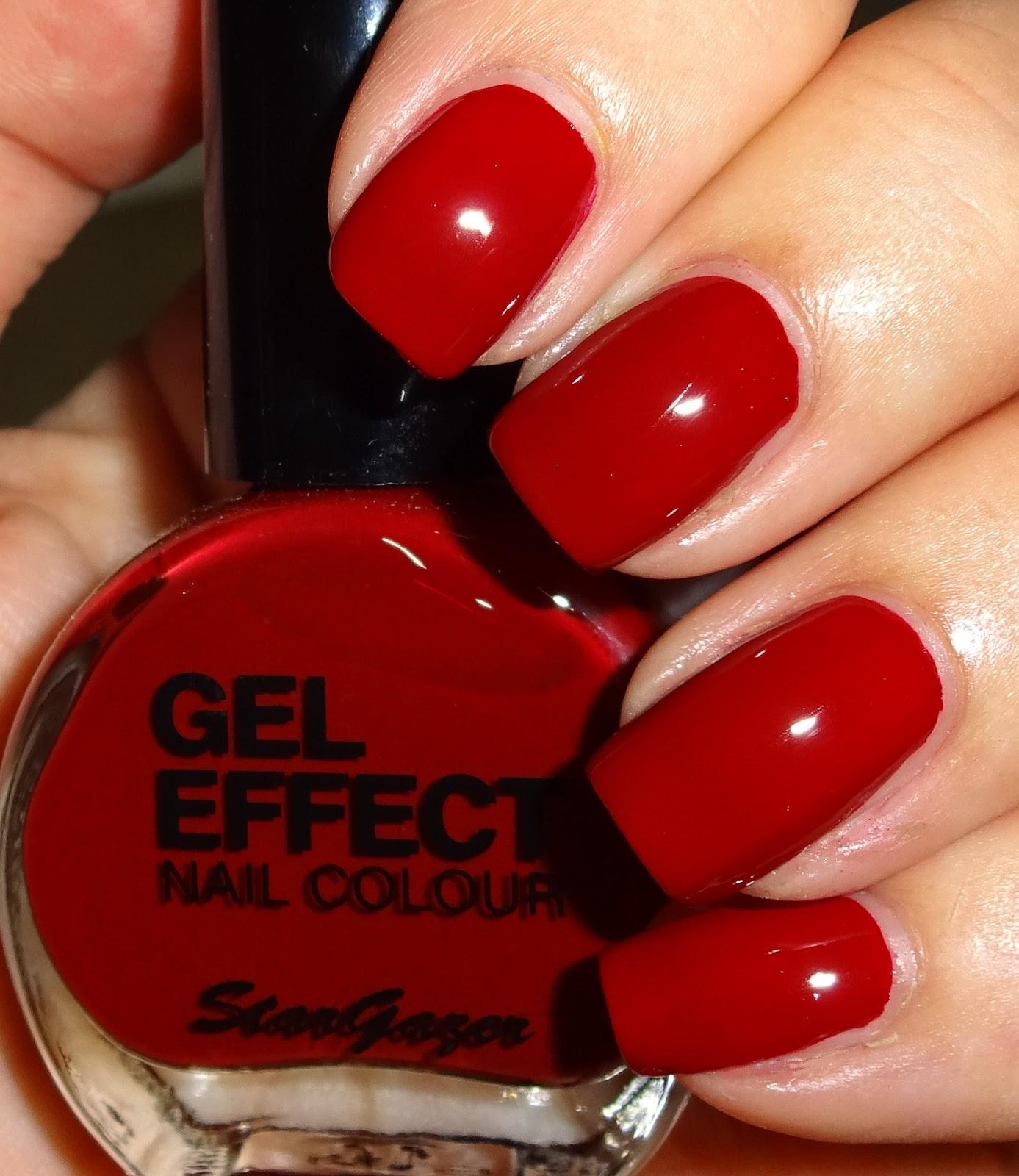 Wendy\'s Delights: Stargazer Gel Effect Nail Colour - Vampire